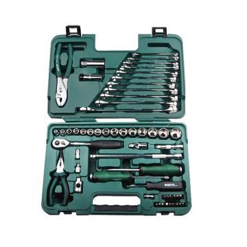 汽修工具套装,世达56件快修店专用组套,09509,升级后为59件套