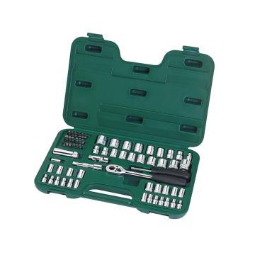 世达套筒工具套装,6.3 X 10mm系列65件套公英制组套 09011