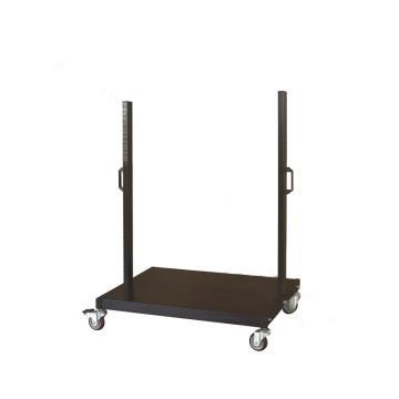 信高 移动型物料架立柱+底盘(含脚轮),两层,960*610*1110mm,KM-2200,散件发货,安装费另询