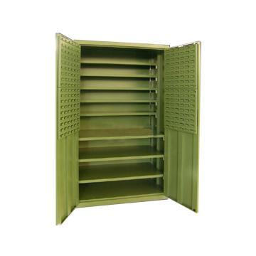 信高 零件盒整理柜,1100*500*1950mm,不含零件盒,绿色(RAL6011)