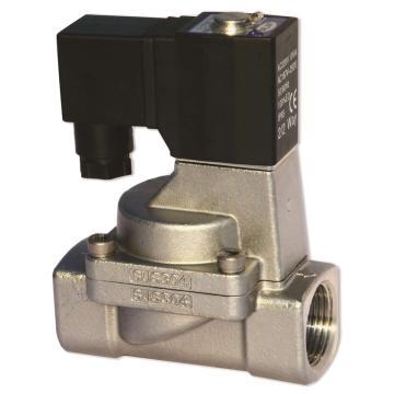 亚德客AirTAC 流体阀,2位2通先导常闭不锈钢型,2S250-25-A