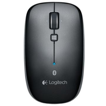 罗技Logitech 蓝牙无线鼠标, M557 (黑色) 单位:个