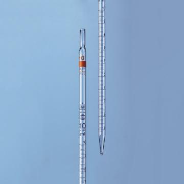 BRAND 刻度移液管,BLAUBRAND®,AS级,2类(标称量程刻度位于顶端),5:0.1ml
