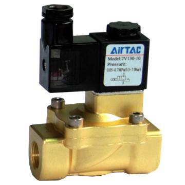 亚德客AirTAC 流体阀,2位2通先导常闭黄铜型,2V130-15-B