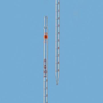 BRAND 刻度移液管,BLAUBRAND® ETERNA,AS级,3类(零刻度位于顶端),10:0.1ml