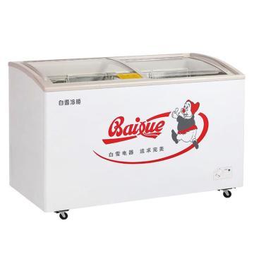 转换型冷冻冷藏箱系列(单室弧面玻璃),白雪 ,SD/C-275F(H),1404*594*850