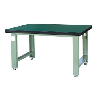重型工作台, 1.5m,绿色(RAL6011)