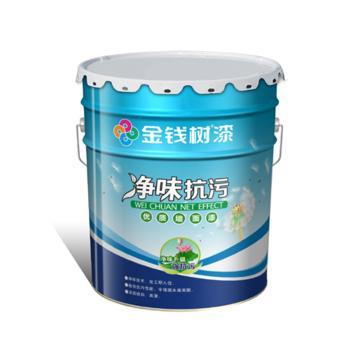 金钱树 净味抗污墙面漆,型号:JQ1208,20kg/桶