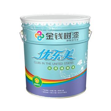 金钱树 优乐内墙乳胶漆,型号:JQ1100,白色,20kg/桶
