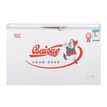 全铜管蒸发器系列冷柜,白雪,BD/C-399DU,1319*720*945,5年内漏换新机
