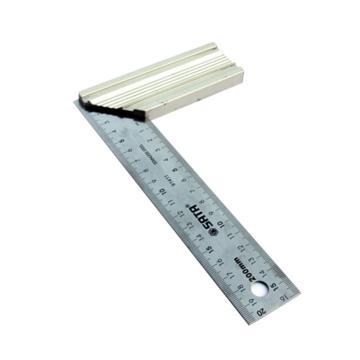 世达钢直角尺,铝柄300mm, 91412