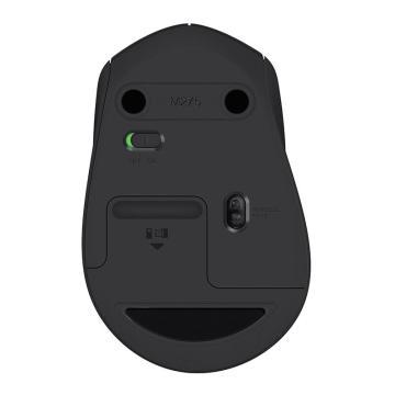 罗技 Logitech 无线鼠标 M275(黑色)
