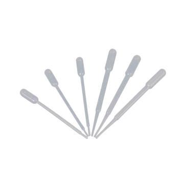 洁特一次性巴斯德吸管,3.0ml,不消毒,100支/包,5000支/箱