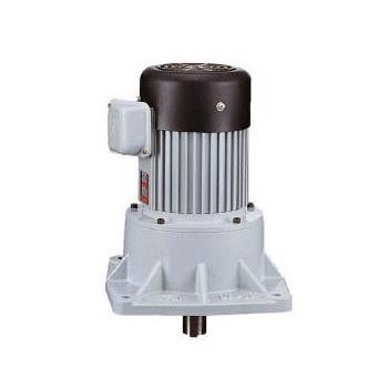 利茗齿轮减速电机,立式安装,减速比1:3,0.4KW,无刹车
