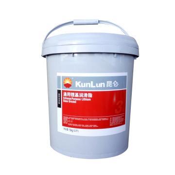 昆仑3号通用锂基脂,15Kg