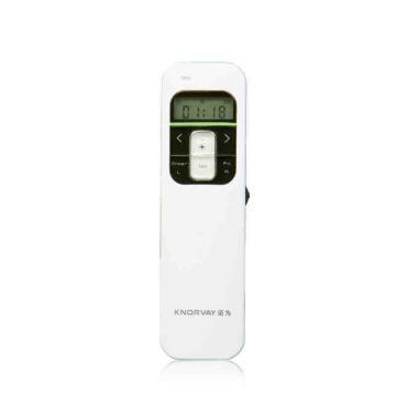 诺为 KNORVAY 翻页激光笔, N80 红光 充电(白色) 单位:个