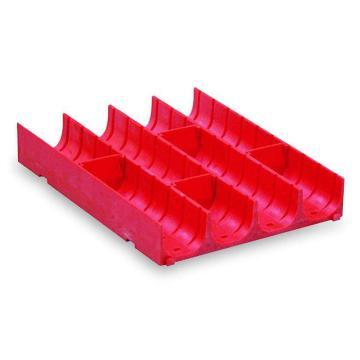 塑料分类槽,4格