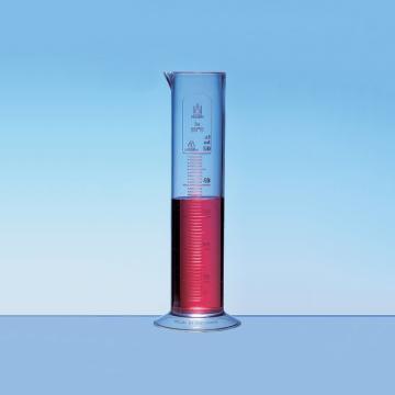 刻度量筒,100: 2ml,低型,PP,无色刻度,10个/包