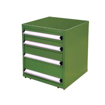 信高 固定式工具柜,(四个抽屉)90kg 绿色,FC-665N