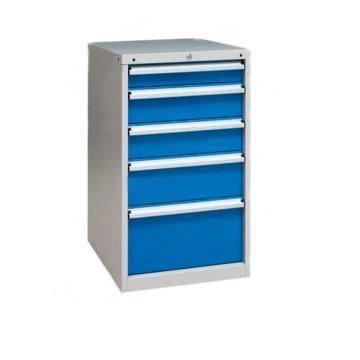 信高 固定式工具柜,(五个抽屉)100kg 灰色,XB90AN-5SG
