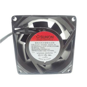 建准 方形交流散热风扇(80*80*38mm),SF23080A 2083HBL.GN