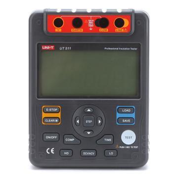 优利德/UNI-T UT511绝缘电阻测试仪,输出电压100/250/500/1000V
