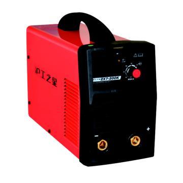 沪工之星逆变直流弧焊机,ZX7-200E,含5米焊把线、2米接地线、手套1付