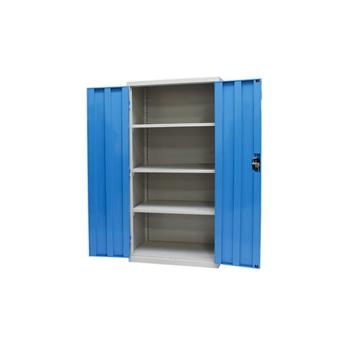 层板式置物柜, 蓝色