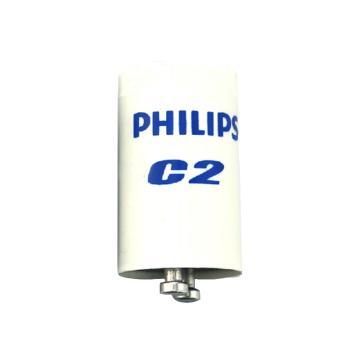 飞利浦 标准型荧光灯启动器,C2 220-240V/110-130V, 4-22W