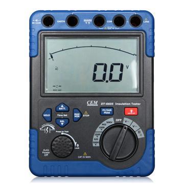绝缘电阻测试仪,华盛昌 手持式高压绝缘表,DT-6605