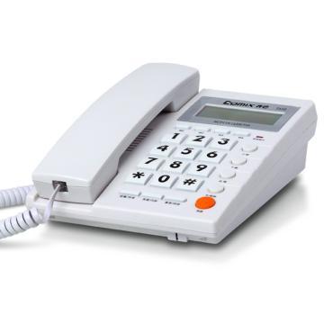 齐心 电话机,多功能免提 白,T330