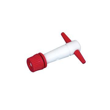 BRAND 直滴型滴定阀,适用于25+50ml滴定管