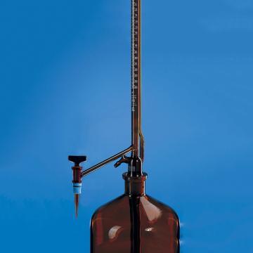 BRAND 零备滴定阀阀芯,用于Pellet式自动回零滴定管,棕色玻璃阀芯