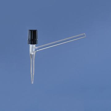 BRAND 侧滴型针形滴定阀,适用于50ml,DURAN® 滴定管,0-2.5mm