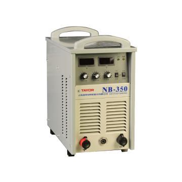 上海通用NB-350逆变式半自动气体保护焊机套机,380V电源适用,气保焊手工焊两用机