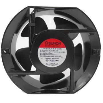 建准 圆形交流散热风扇(151*171*51mm),A2175-HBL T.GN