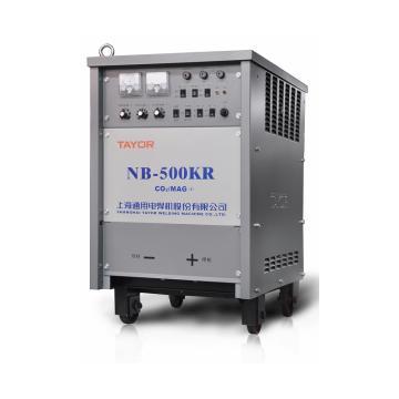 通用气体保护焊机,NB-500KR,含QTB-500A焊枪一把、送丝装置一套、CO2减压器1只、10米50mm²焊接电缆一根、2米50mm²接地电缆一根,12米气管一根、10米控制电缆一根