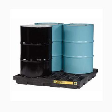 4桶盛漏平台,无插槽,不可配叉车