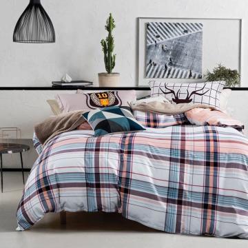 四件套 演绎经典 被套尺寸160x210cm 床单160x230cm 枕套48x74一对  适用1.2米床