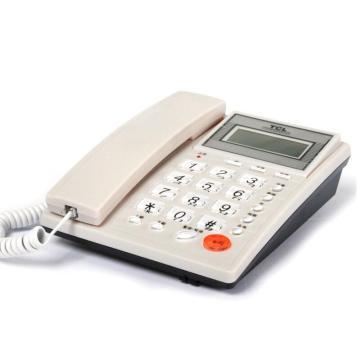 TCL 电话机 HCD868(37)TSD(白色)