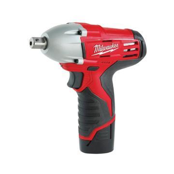 米沃奇充电式冲击扳手,锂电 0-2000 rpm 冲击率0-3000次/分钟,C12IW