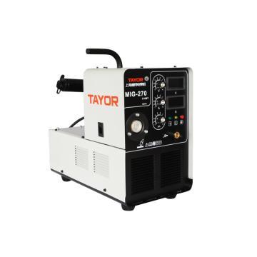 通用逆变式气体保护焊机,MIG270D,含QTB250A气保焊枪1套、接地线1套、CO2减压器1只、3米网管一根