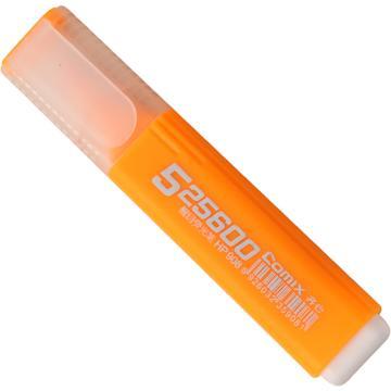齐心荧光笔, 醒目,橙,10PCS/盒  HP908