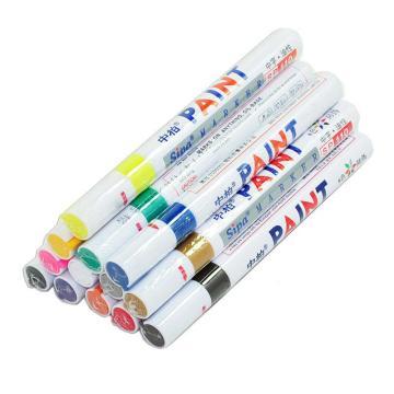 中柏油漆笔,SP-110 白色 12支/盒