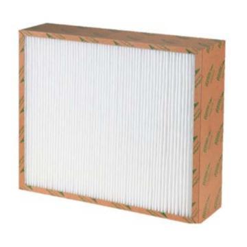 宾优 纸框板式PM2.5中效空气过滤器,BN-PF6-75-592*592*48,过滤效率F6
