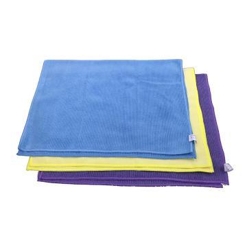超细纤维擦拭布,40cm×60cm×1片/包×15片/箱,蓝色