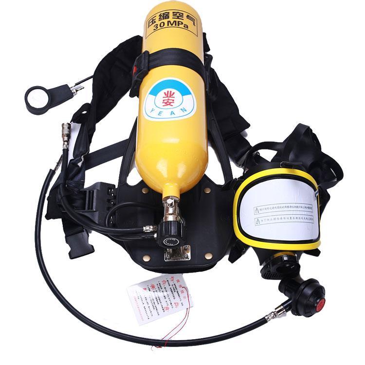 业安空气呼吸器,  RHZK-5/30型(5L钢制气瓶)
