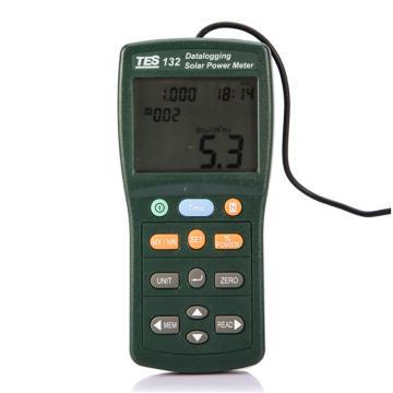 泰仕太阳能功率表(记录型),TES-132