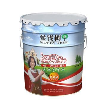金钱树 全天候外墙乳胶漆,型号:JS3100,白色,20kg/桶