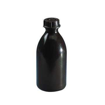 棕色窄口瓶,250ml,LDPE